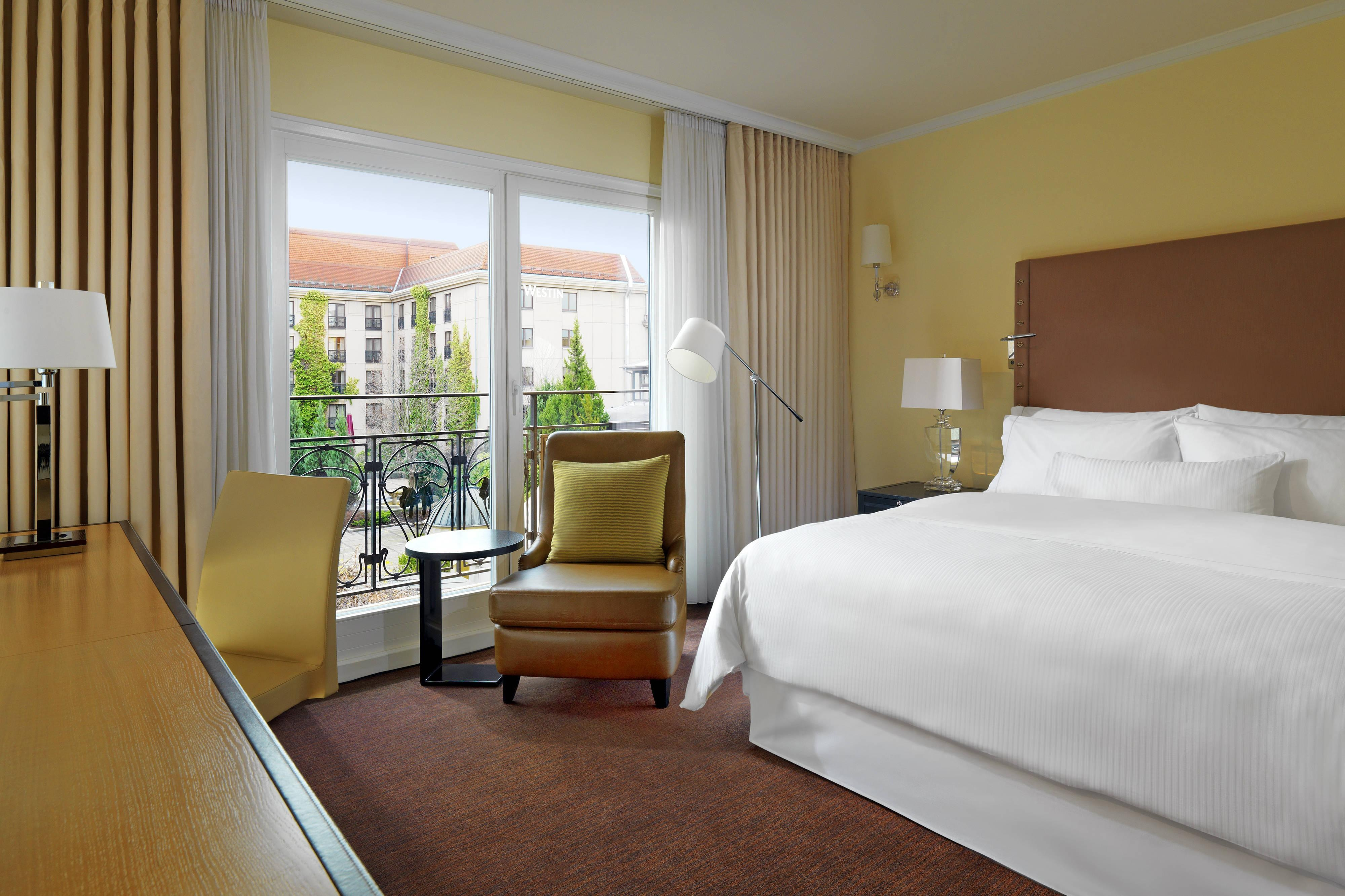 Garden Superior rooms Berlin at The Westin Grand hotel