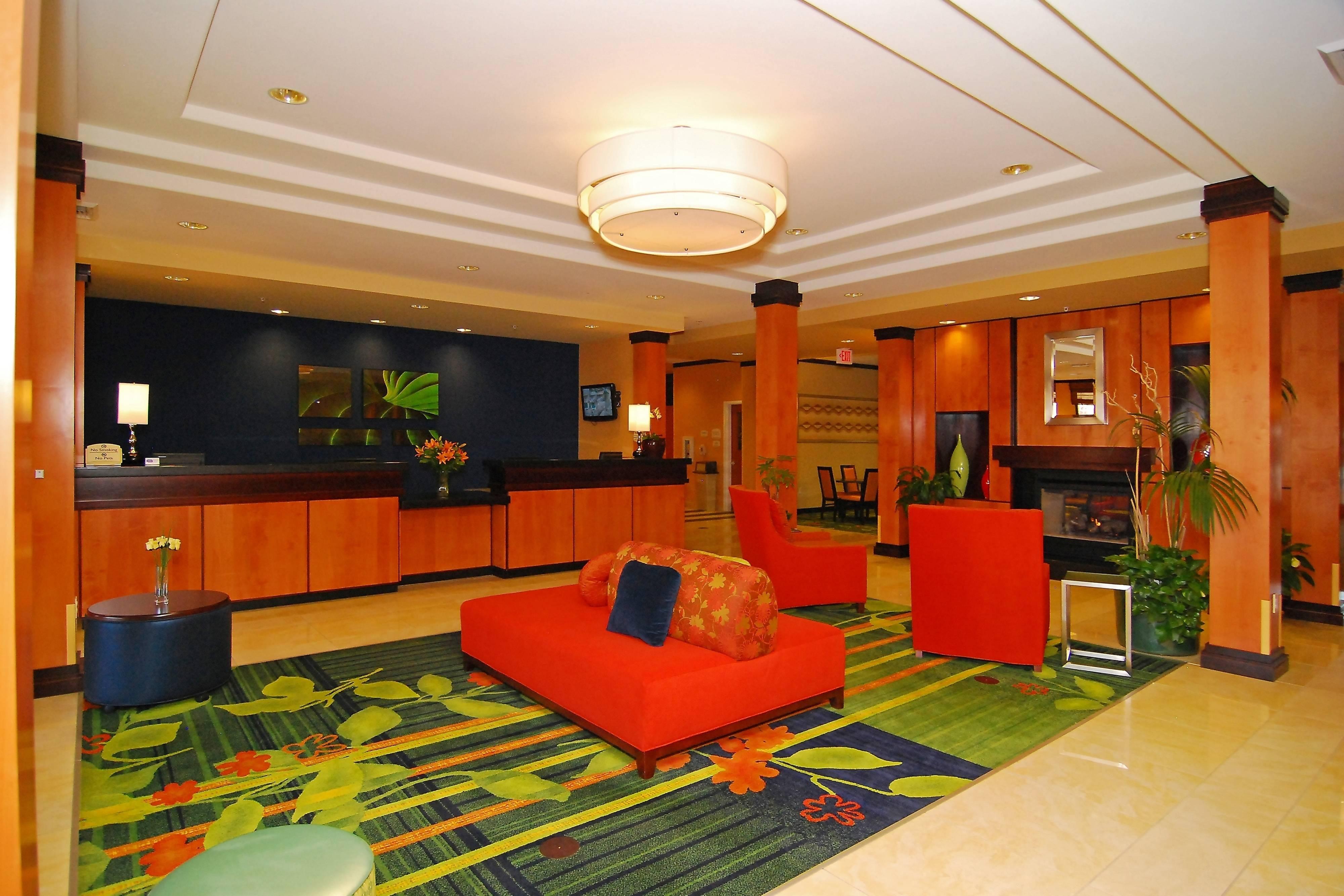 Lobby & Fireplace