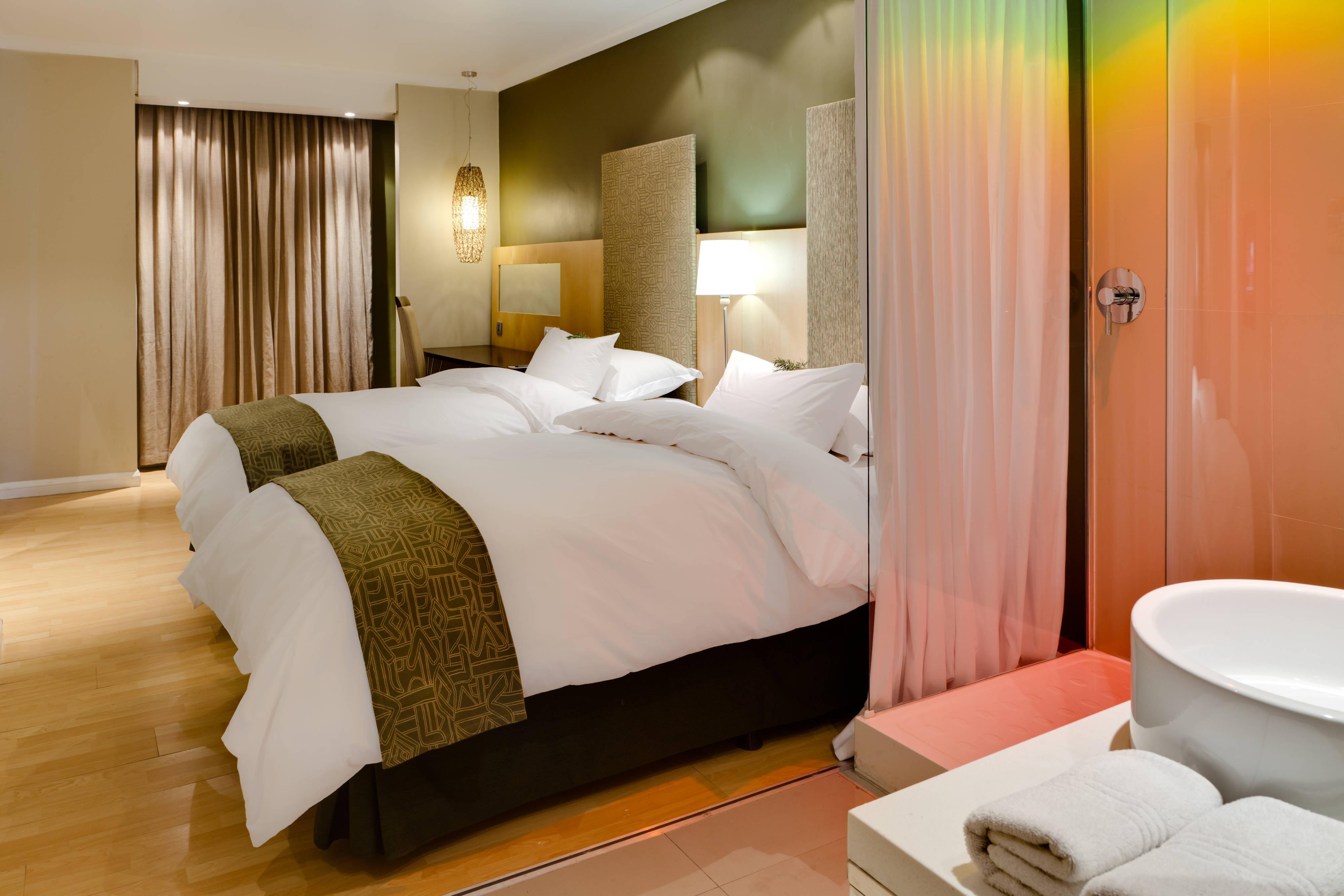 Chambre avec deux lits jumeaux