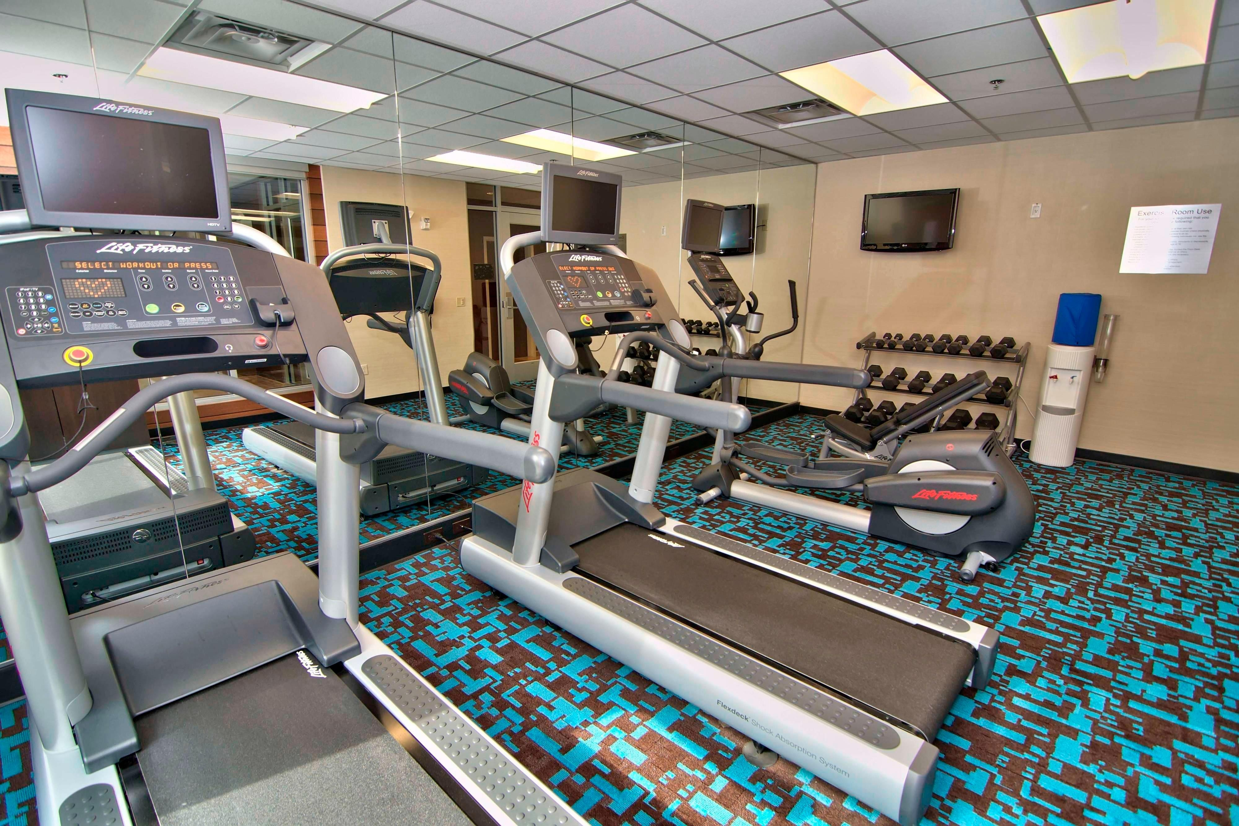 Towanda hotel fitness center