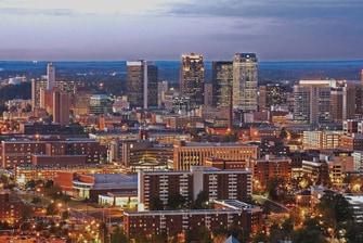 Birmingham Skyline – Birmingham Courtyard