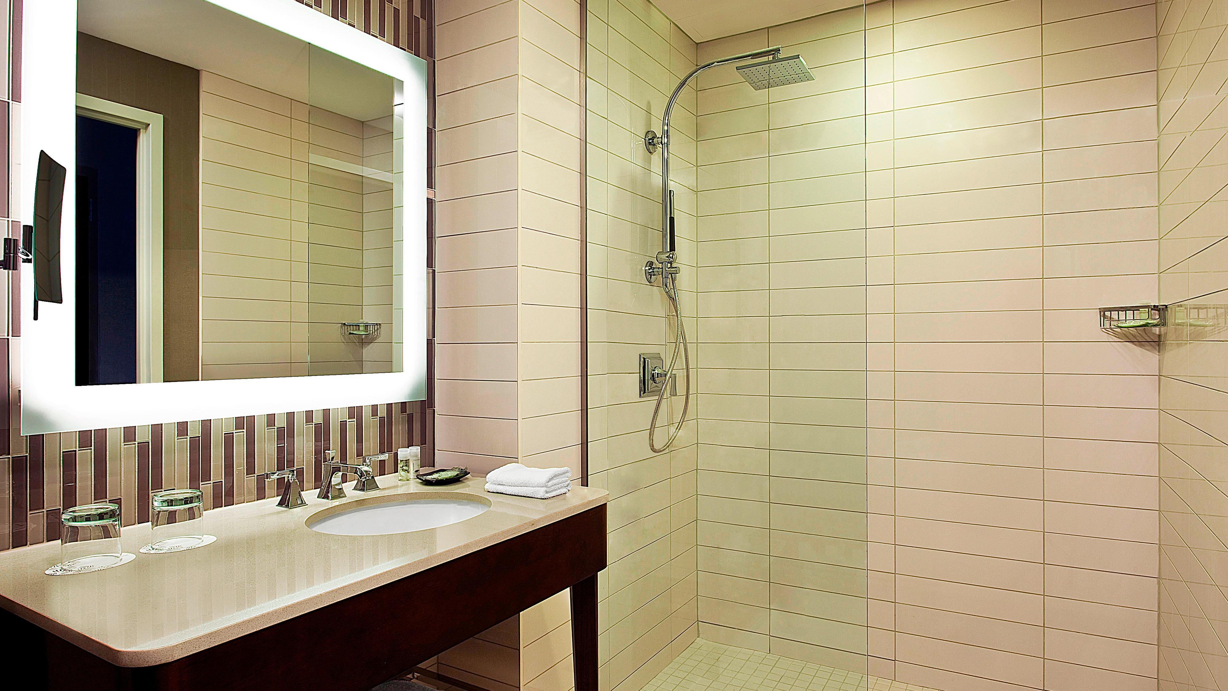 Guest Heavenly Shower/Bath