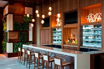 Lobby Bar and Vertical Garden