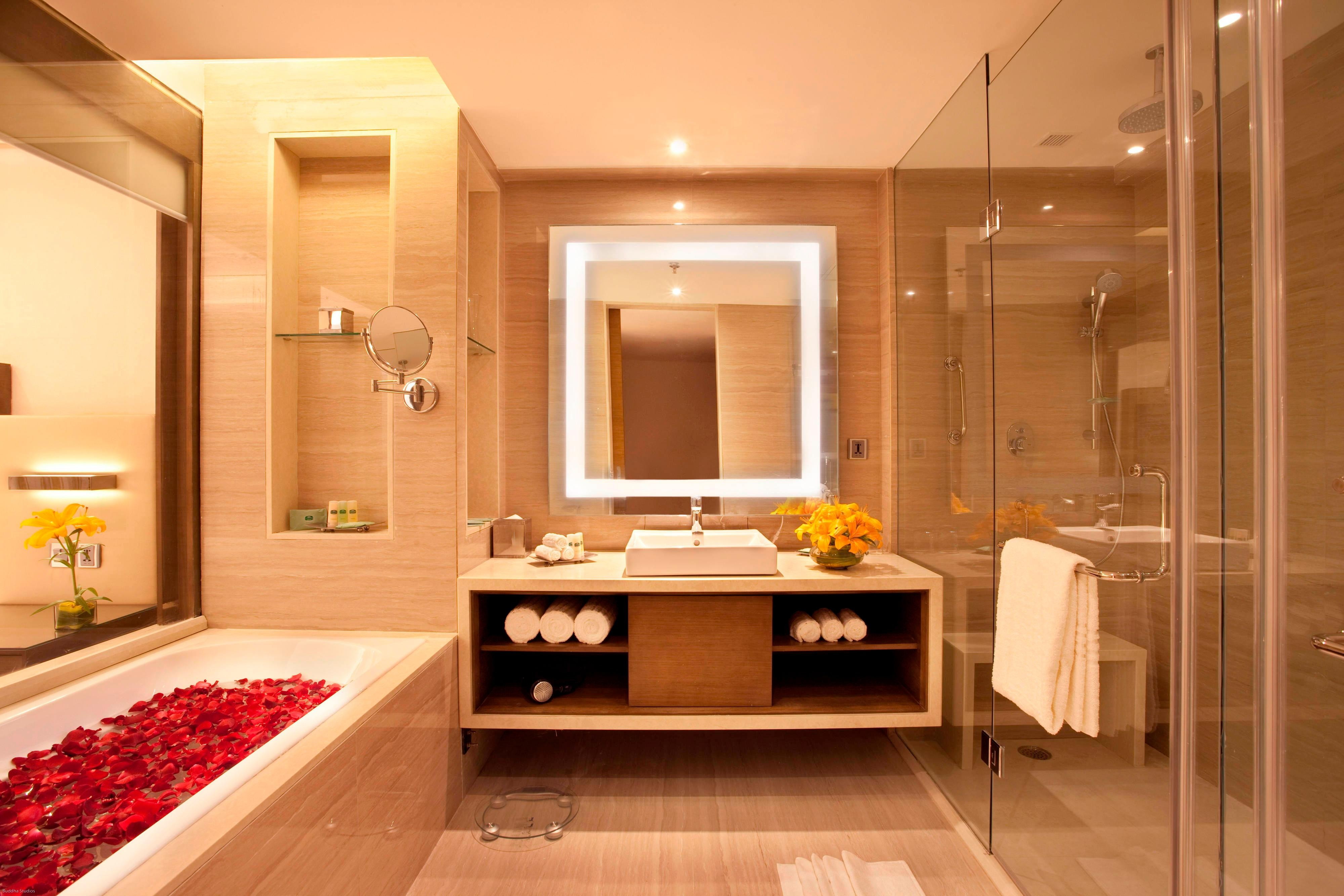 Courtyard Suite bathroom in Bhopal