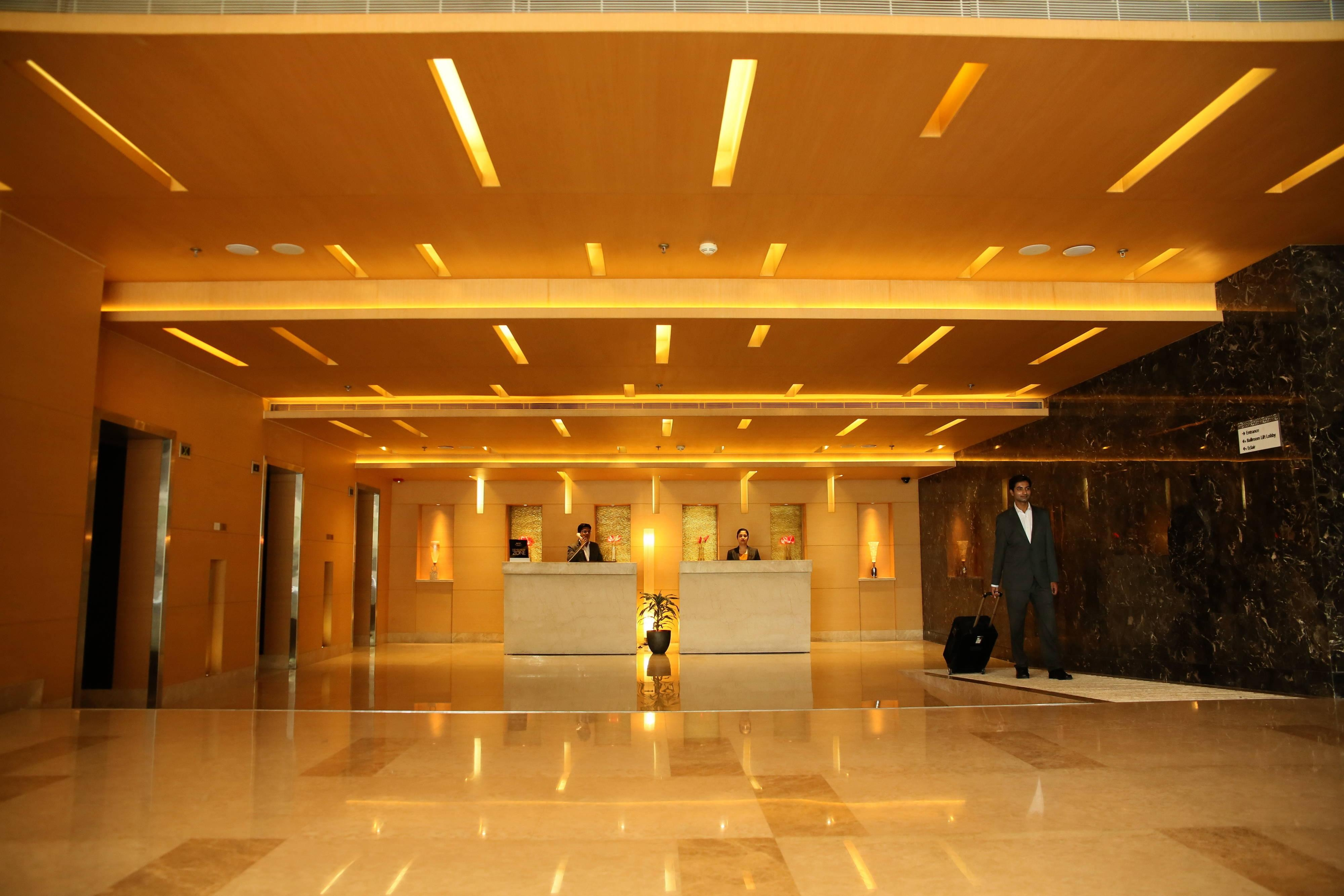 Bhopal hotel front desk