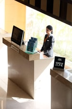 Information desk in Bhopal hotel