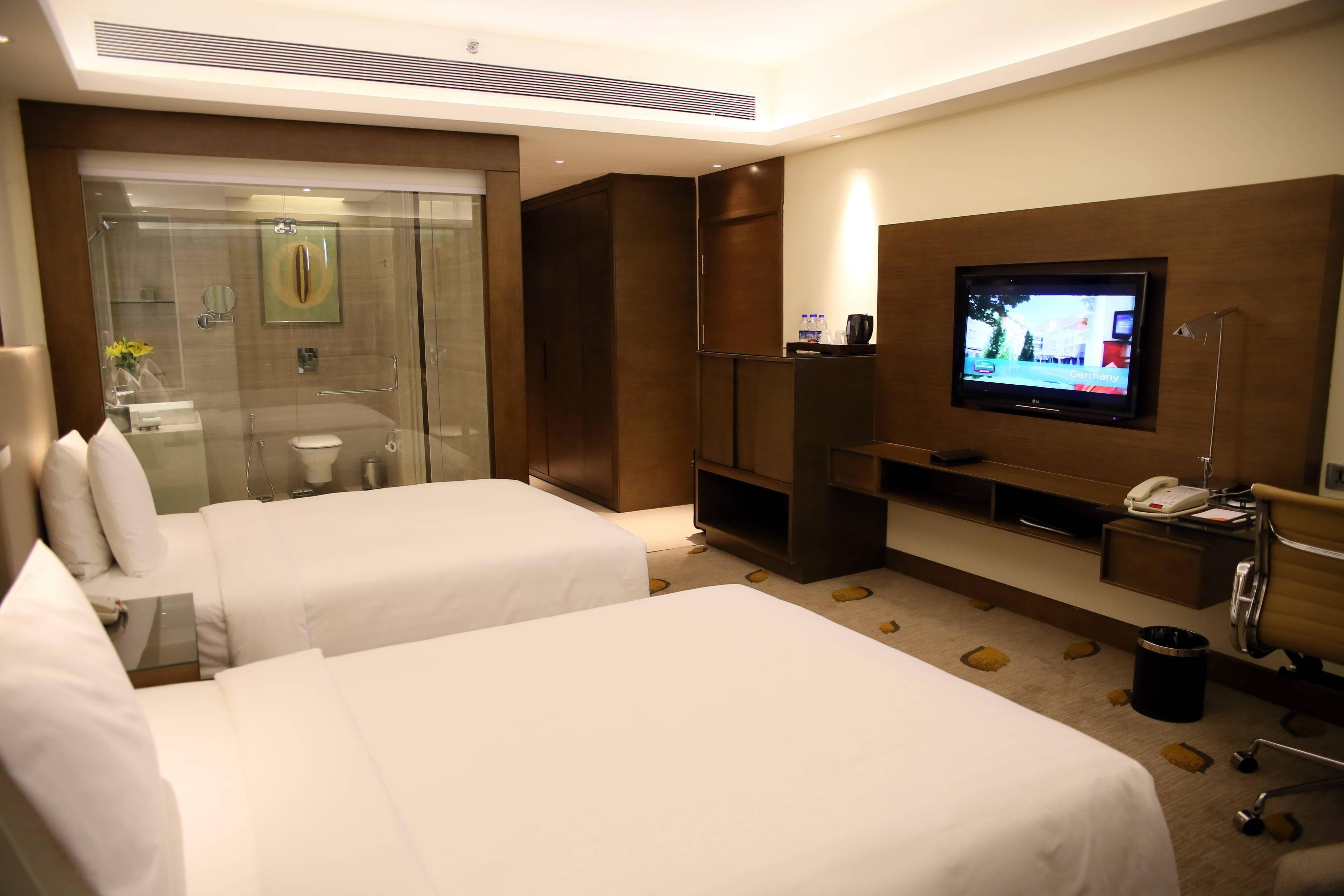 Double/double Bhopal guest room