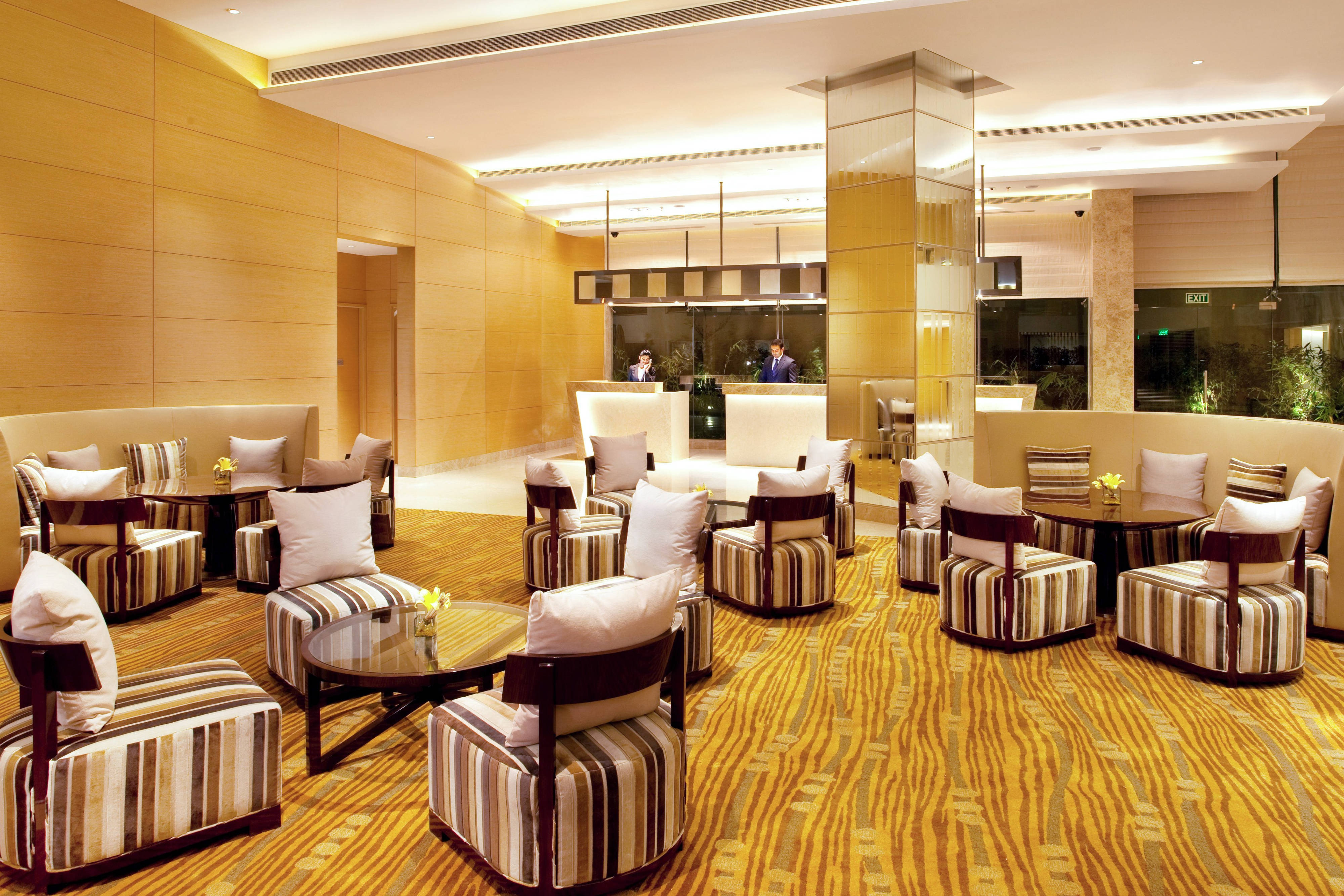 Luxury Bhopal hotel lobby lounge