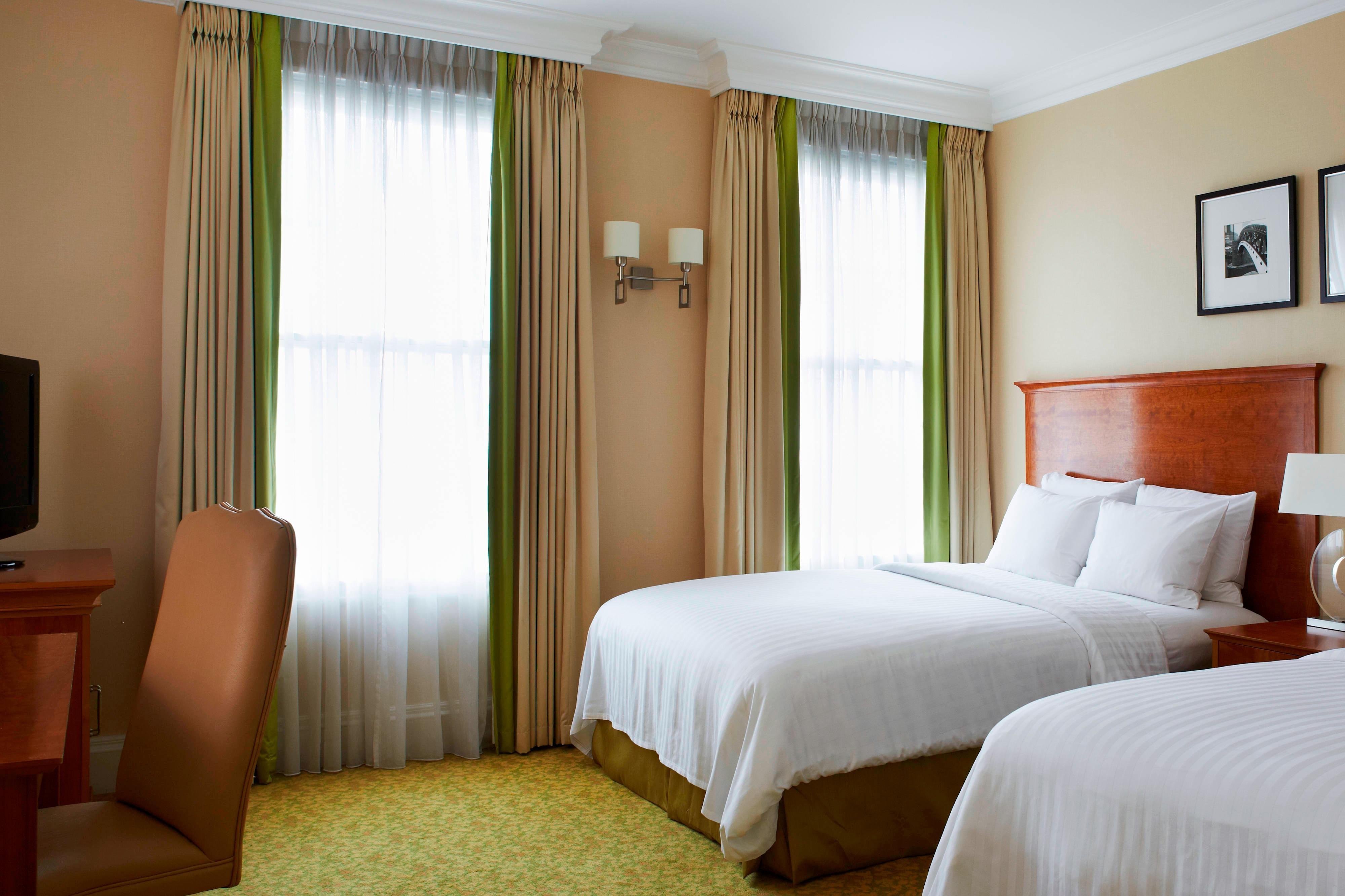 Deluxe-Gästezimmer mit zwei Doppelbetten