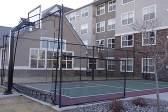 Billings hotel sport court
