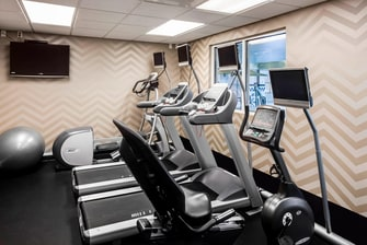Billings, MT hotel fitness center