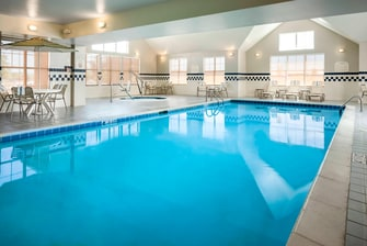 Billings hotel with indoor pool