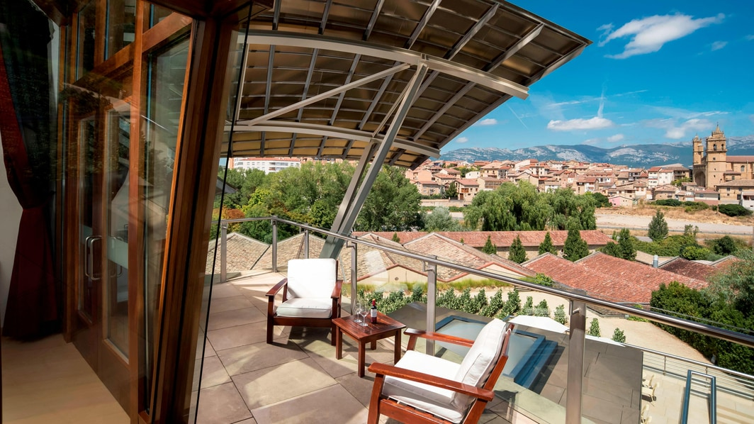 Gehry Suite – Terrasse