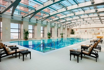 Beijing hotel swimming pool