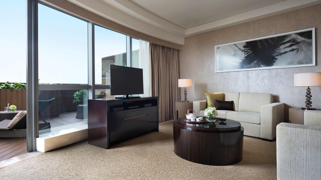 Suite au JW Marriott Hotel Beijing Central