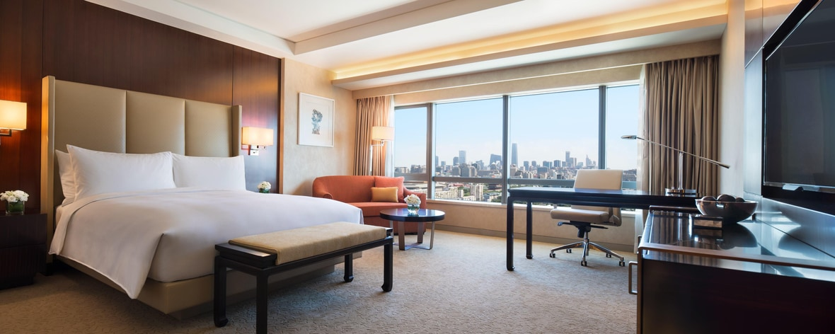 Chambres au JW Marriott Hotel Beijing Central