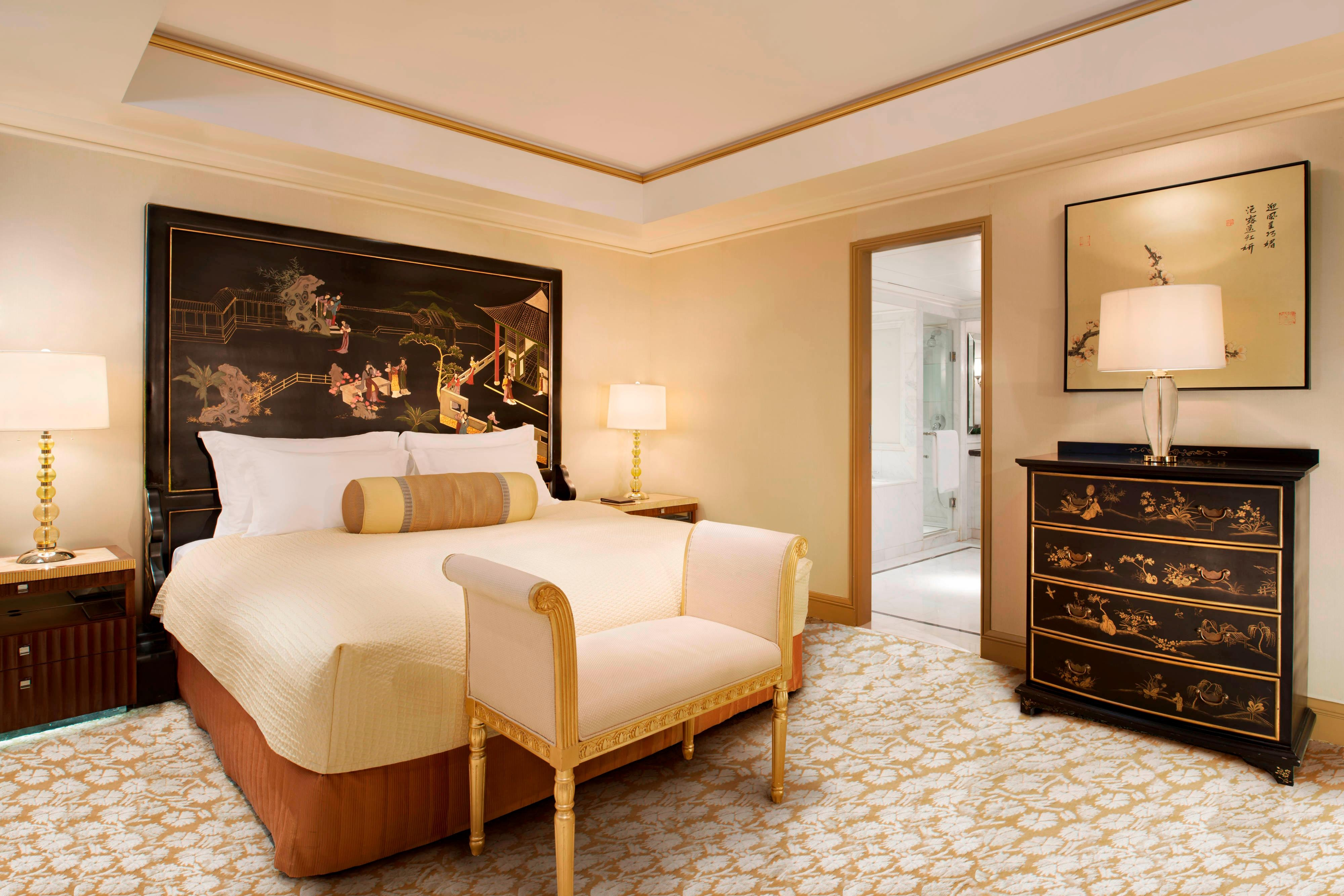 China Suite - King Bedroom