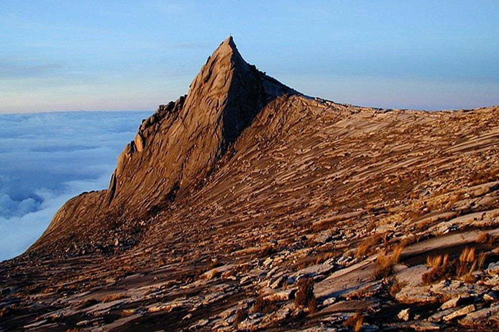Lows Peak at Mount Kinabalu