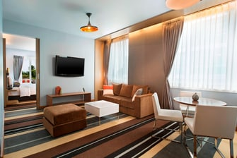 savvy Suite - Living Room