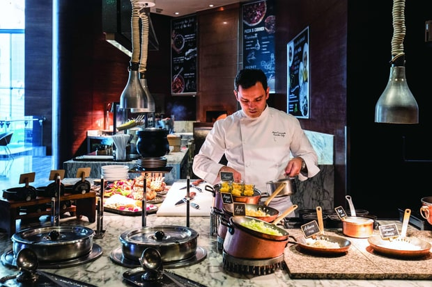 Le Méridien Bangkok's Executive Chef Marco Cammarata