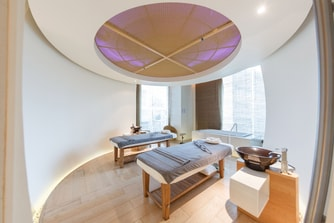 「SPA by Le Meridien」でリラックス