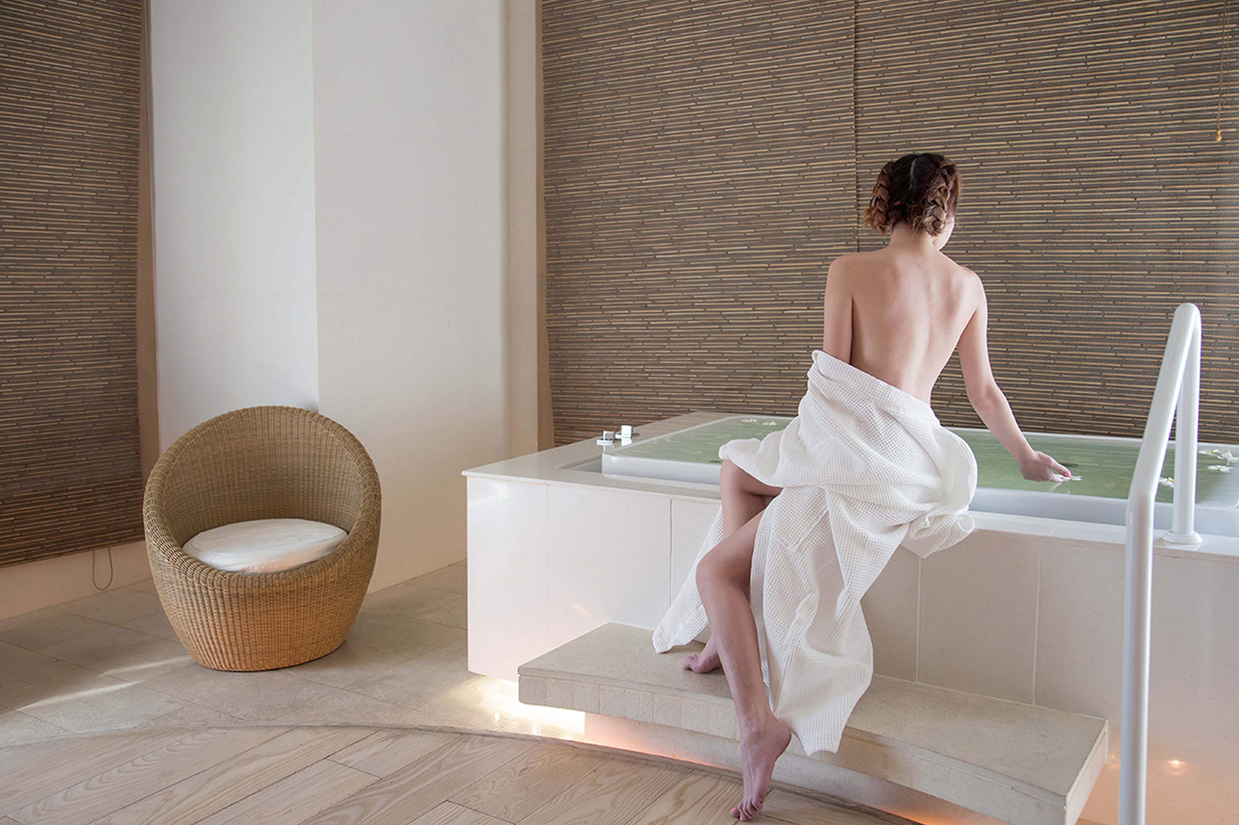 Escape to relax at SPA by Le Meridien