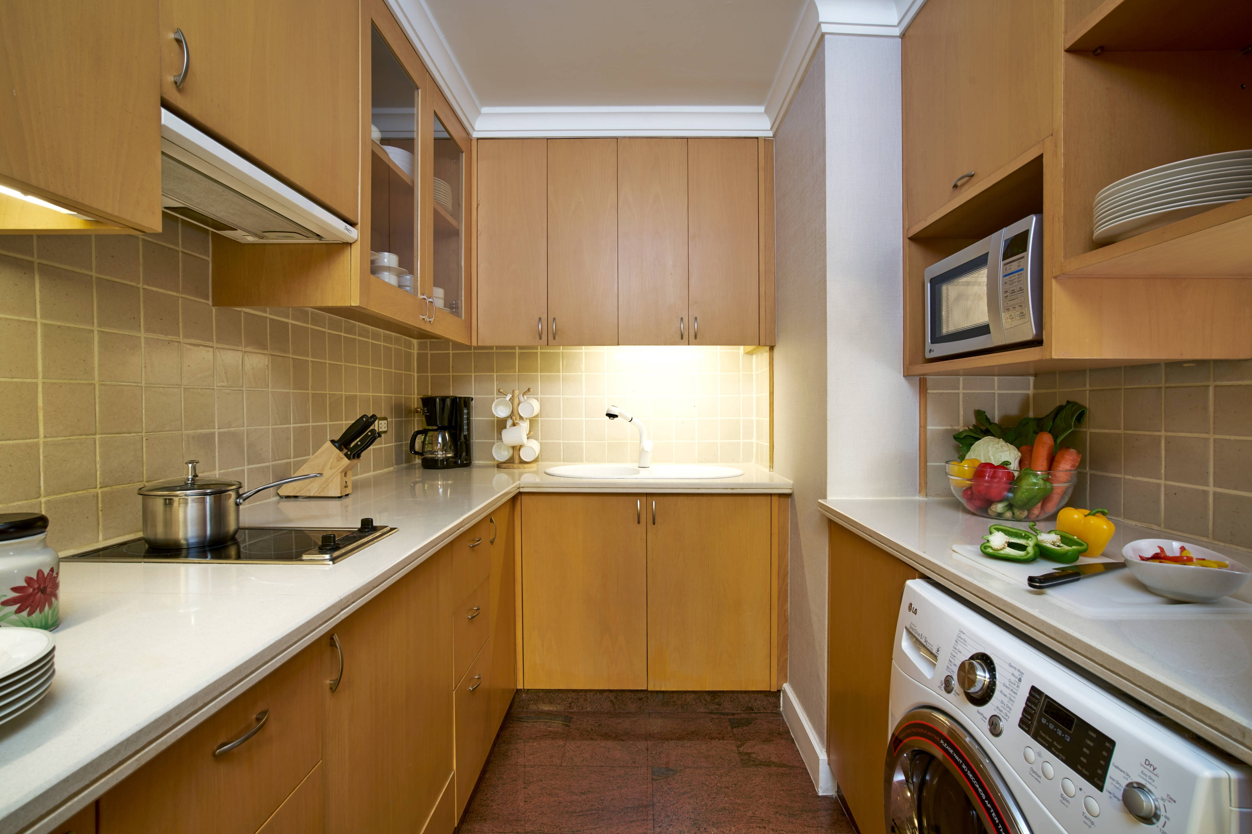 Deluxe-Suite mit einem Schlafzimmer – Küche