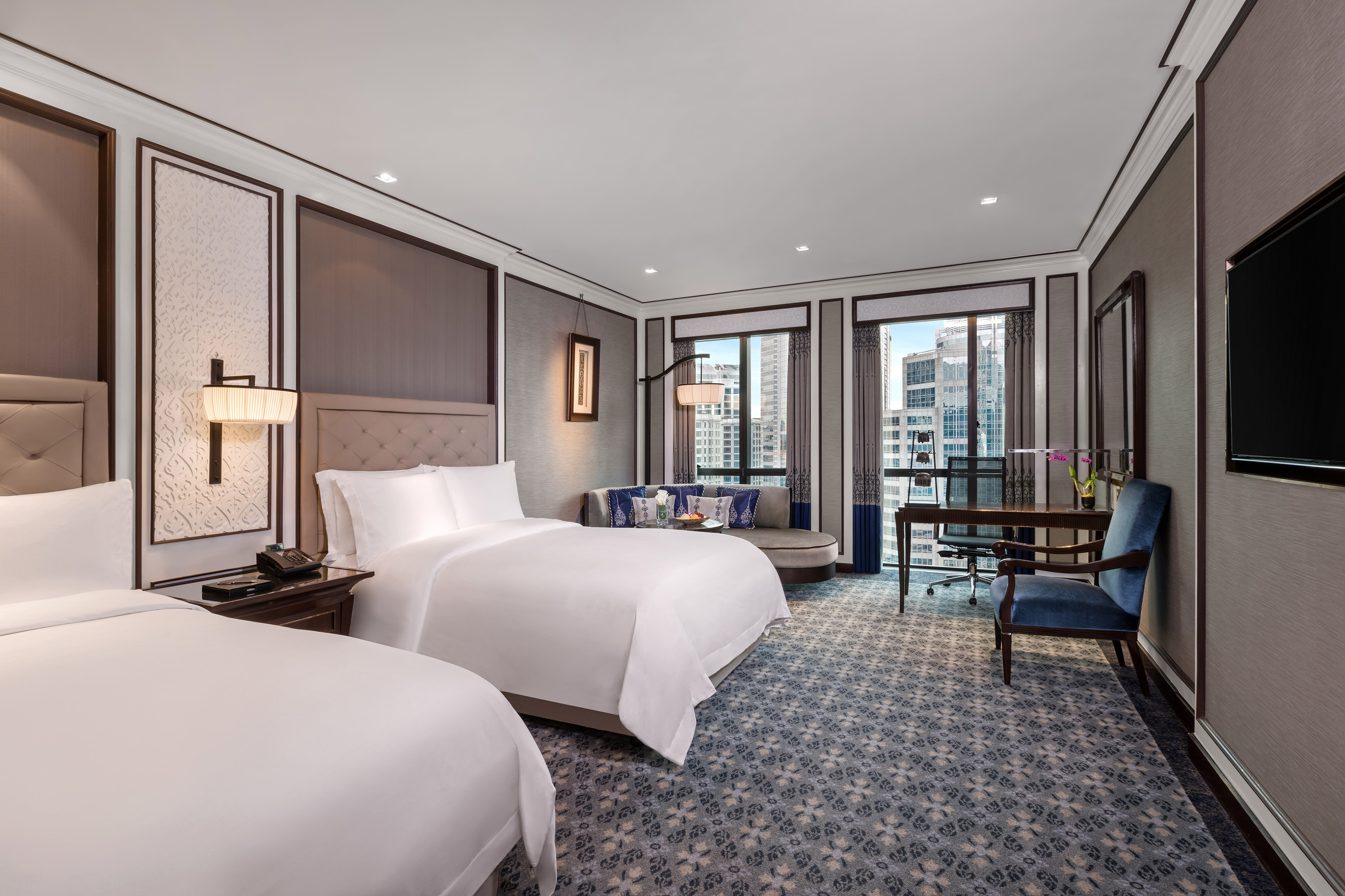 Chambre Royal Club à deux lits doubles