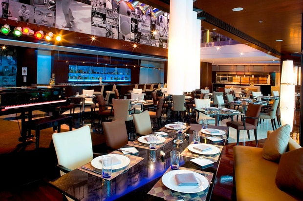 The Reflexions French Restaurant - Dining Area