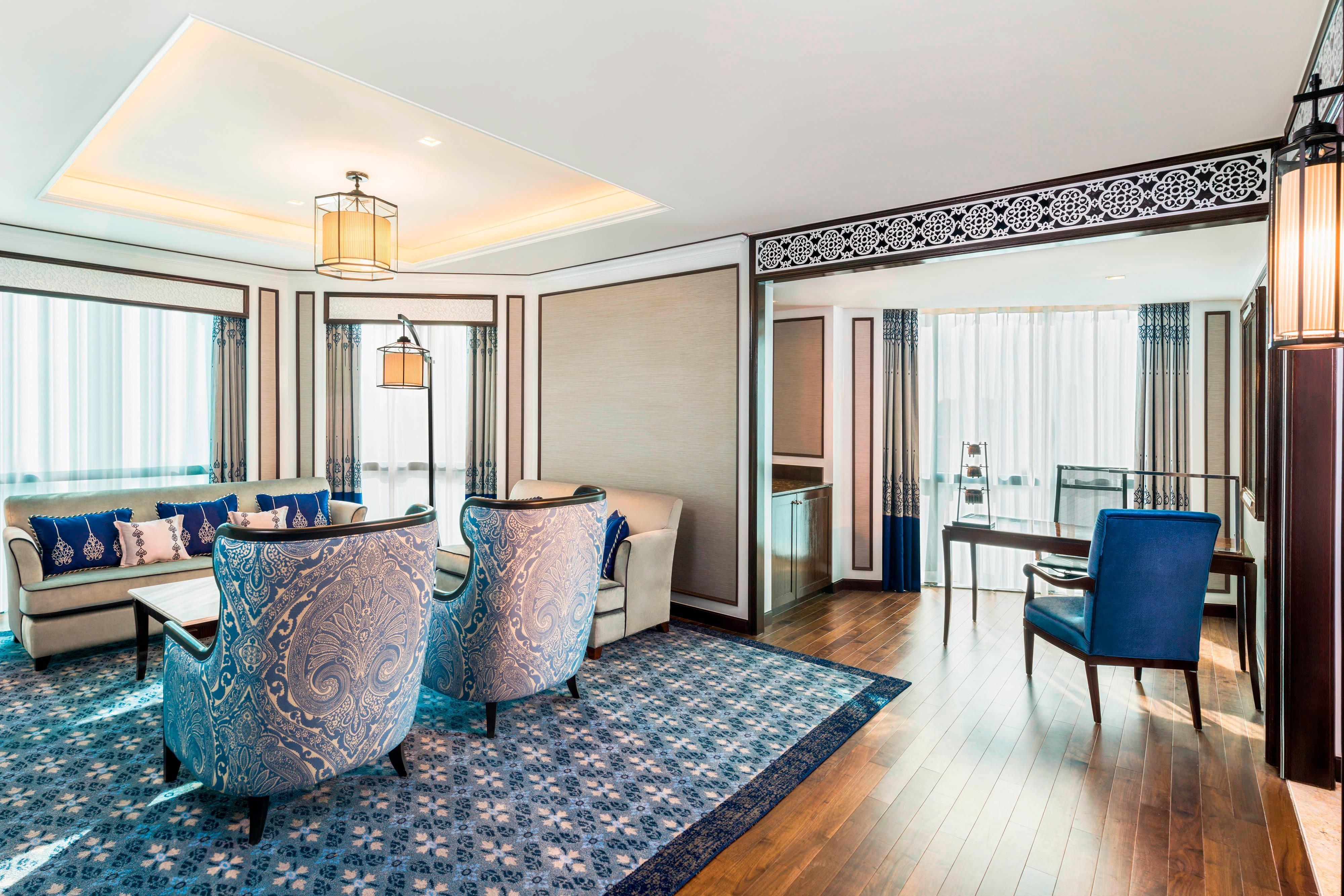 Suite Royal Club- Salle de séjour