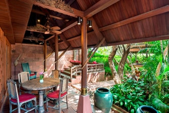 Thai Theme Garden Suite - Terrace
