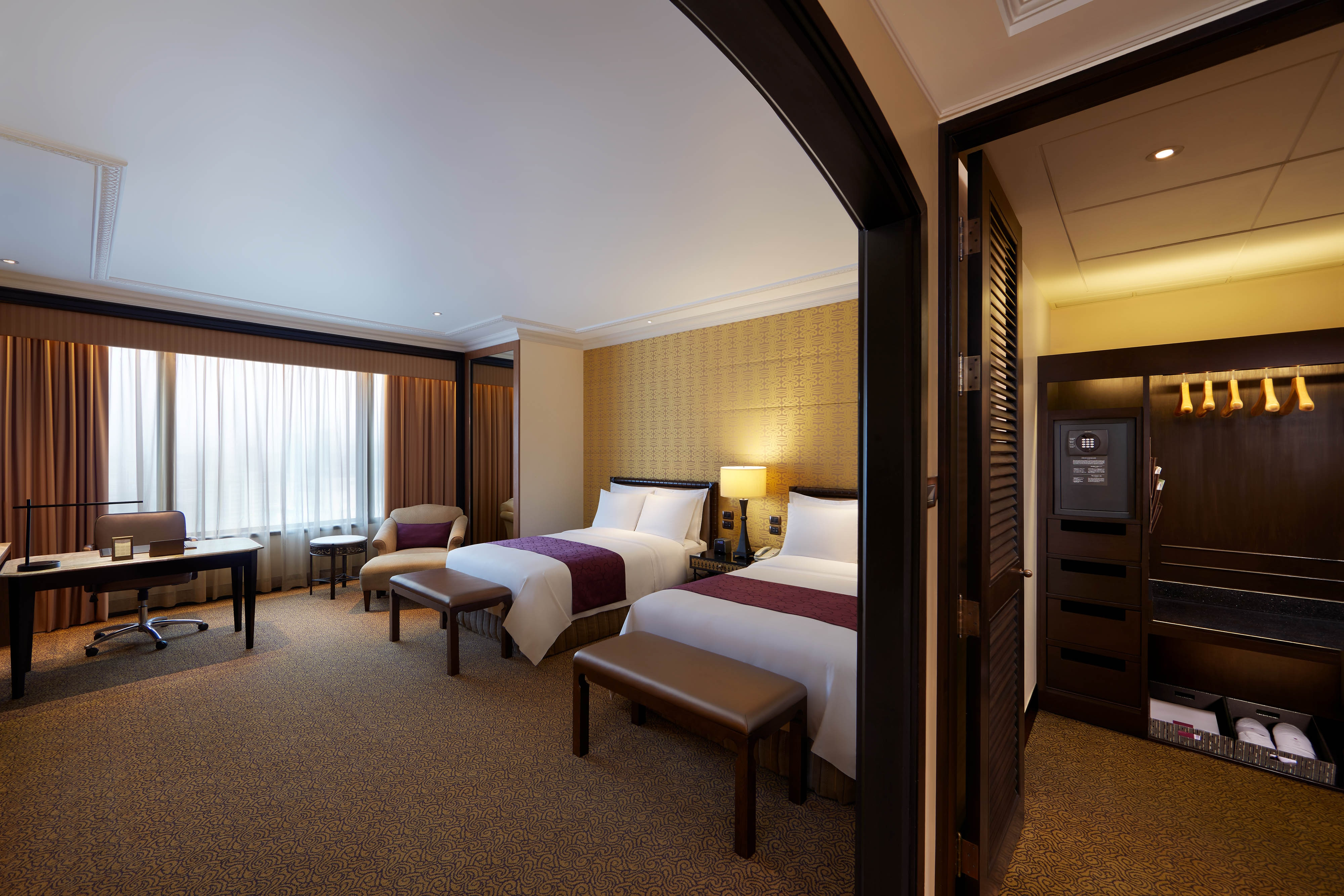 Luxus Gästezimmer mit zwei Twinsize-Betten