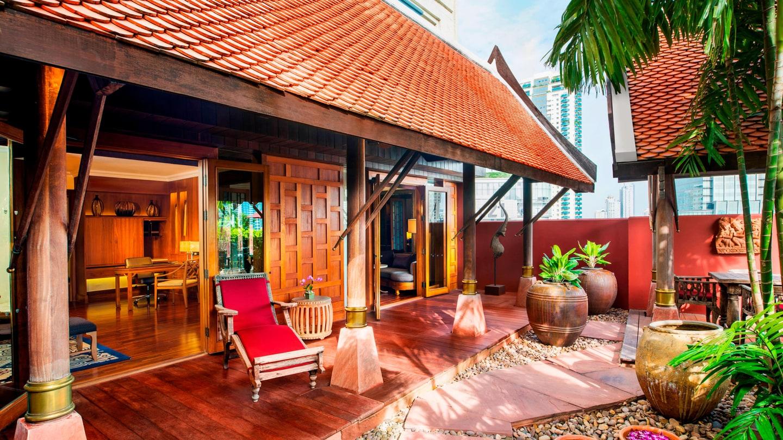Raja - Thai Theme Garden Suite
