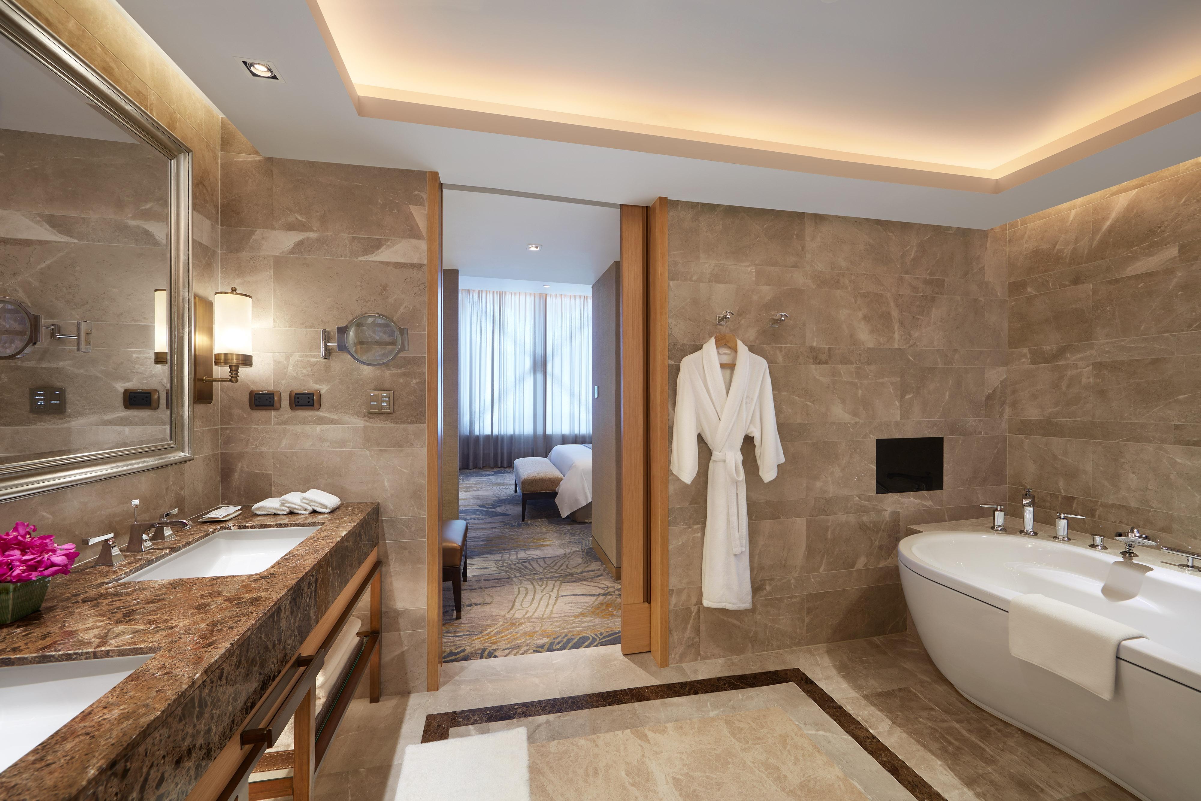 Ванная комната в президентском люксе