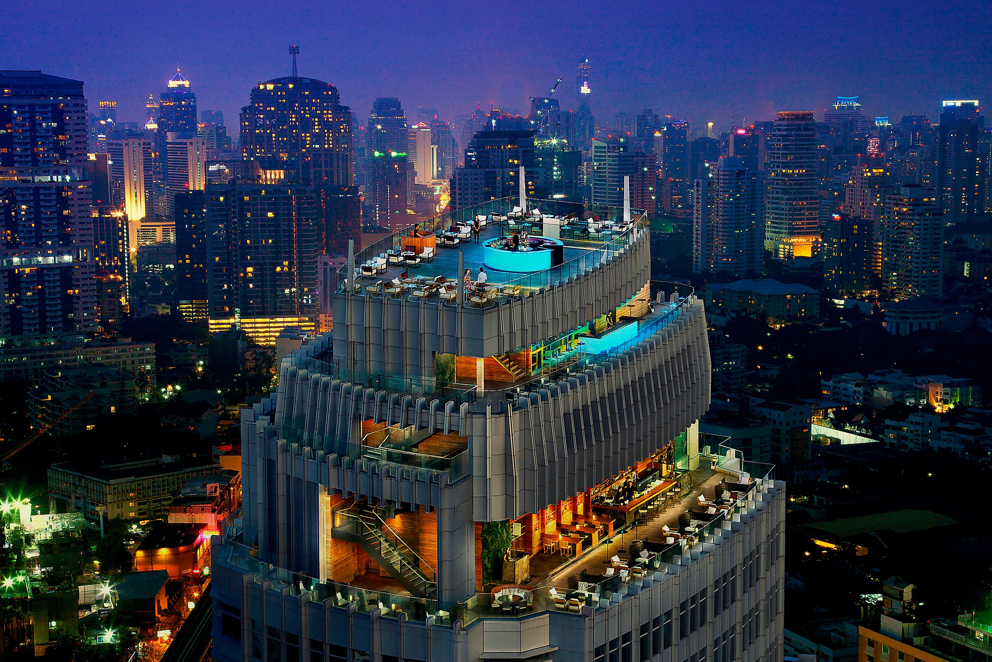 Octave Rooftop Bar & Lounge-vues