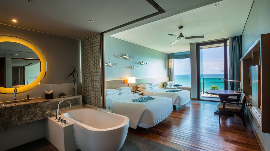 Ocean View, Sea View, Double Bed