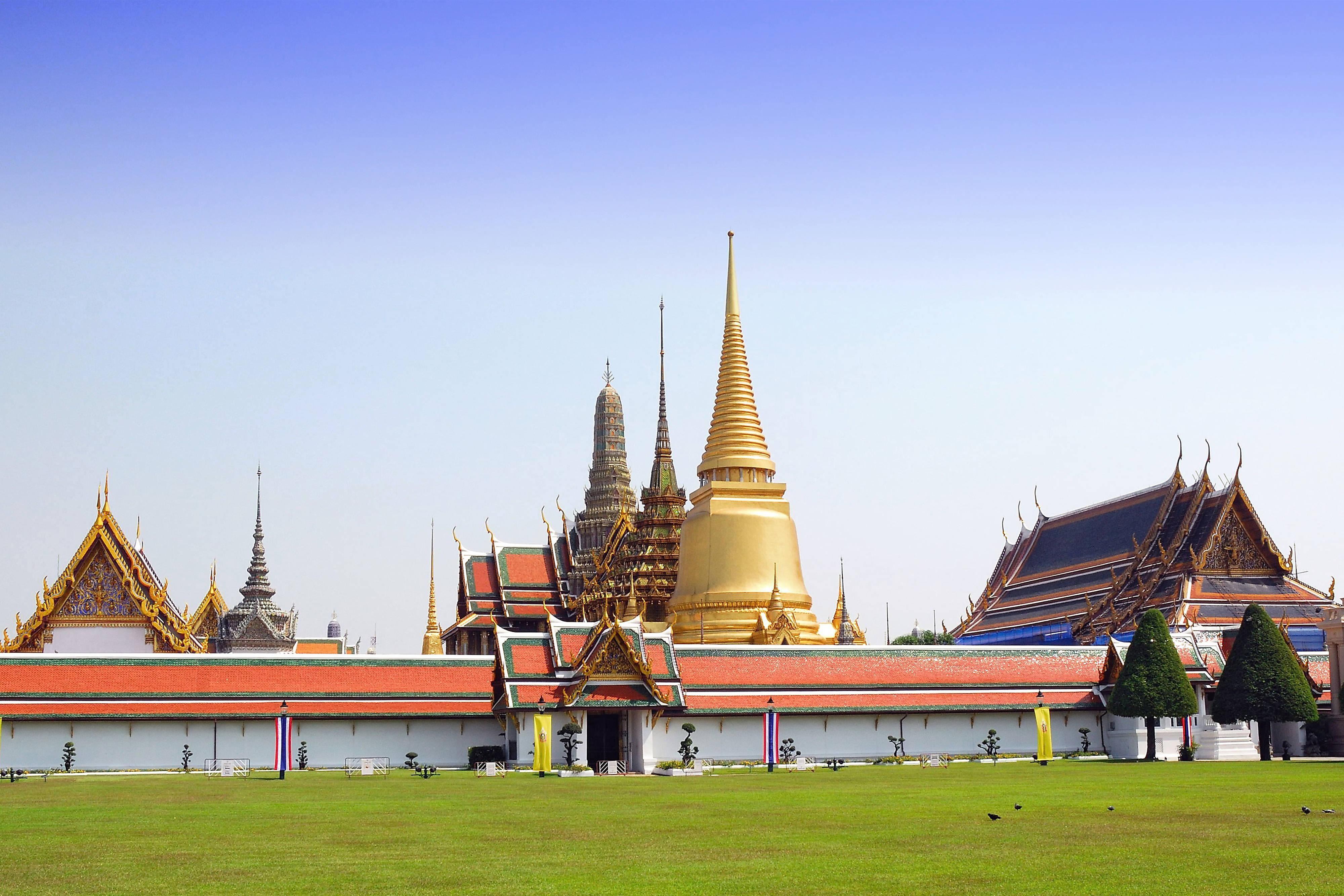 The nearby Grand Palace
