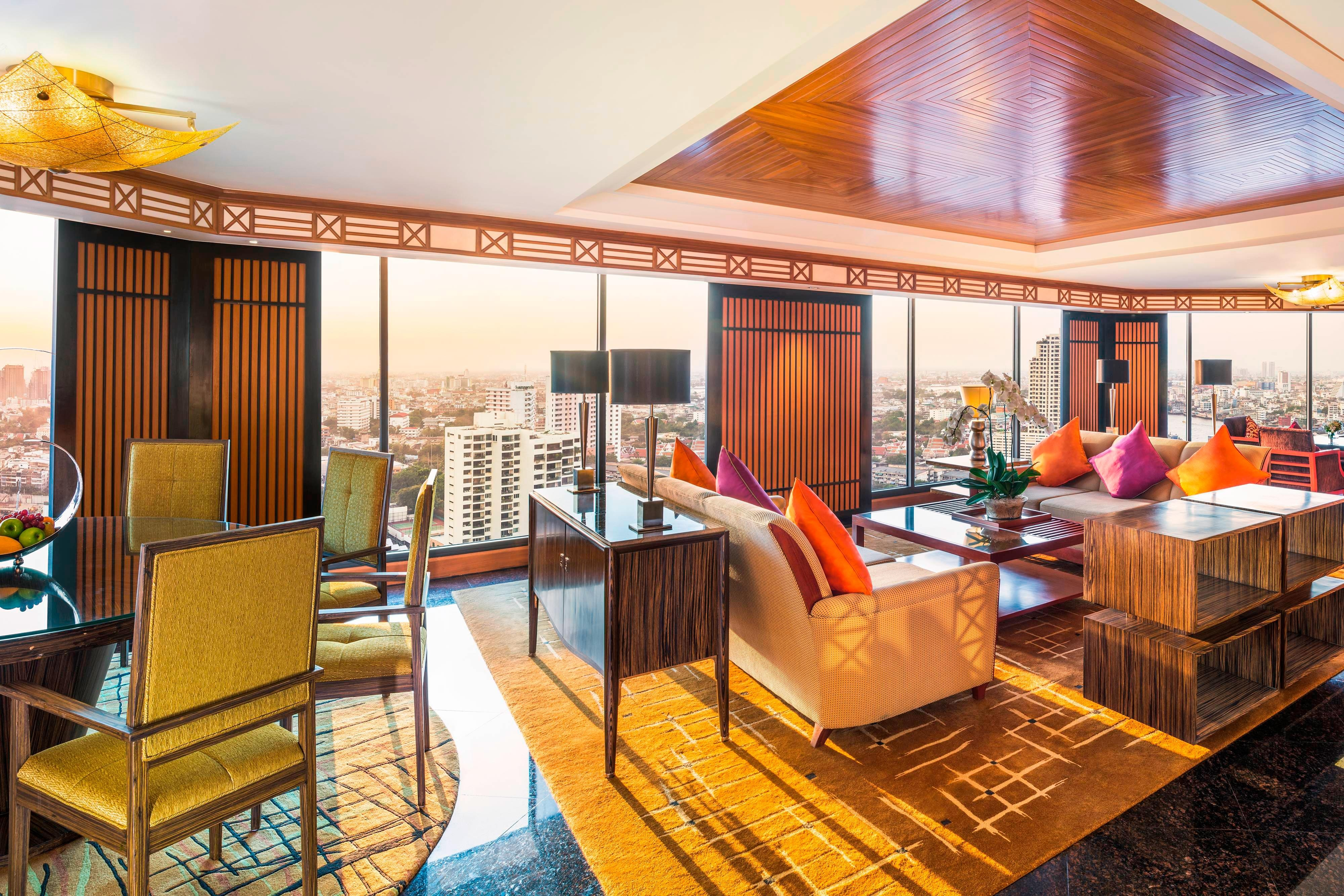 Royal Orchid Presidential Suite - Living Room