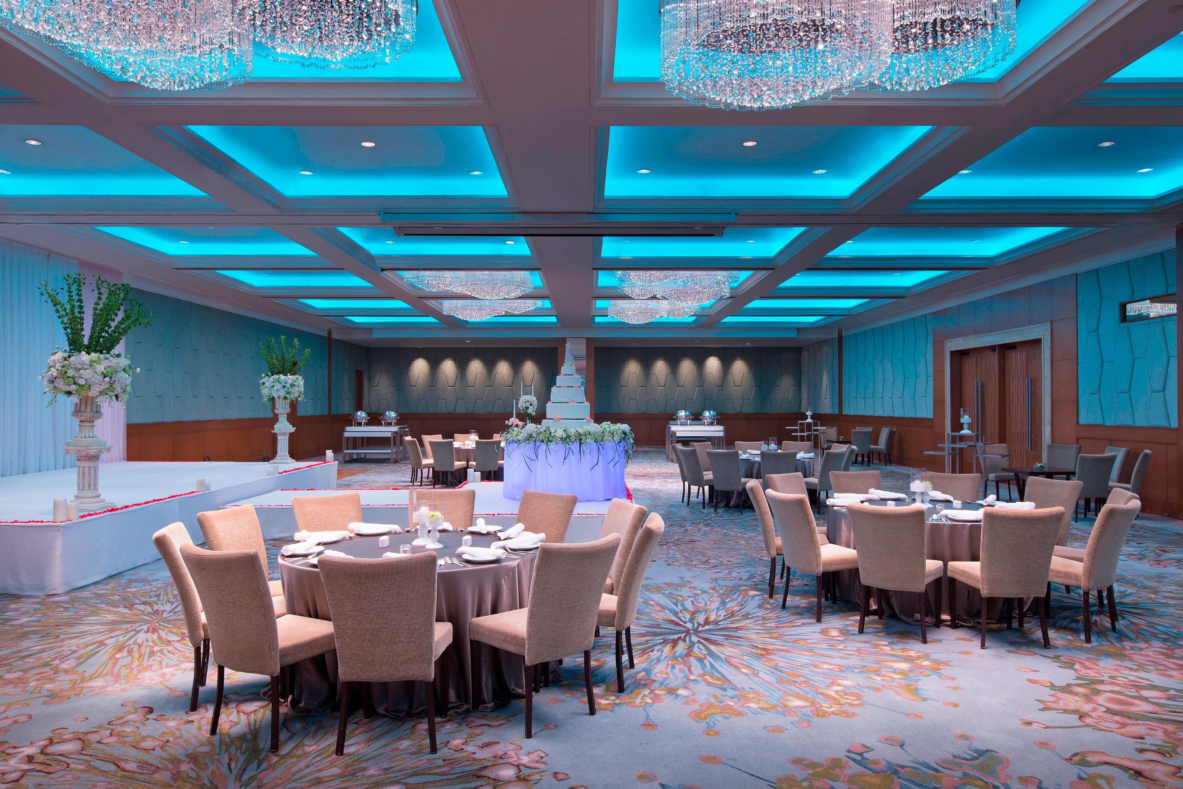 Grand Ballroom - Buffet Set Up