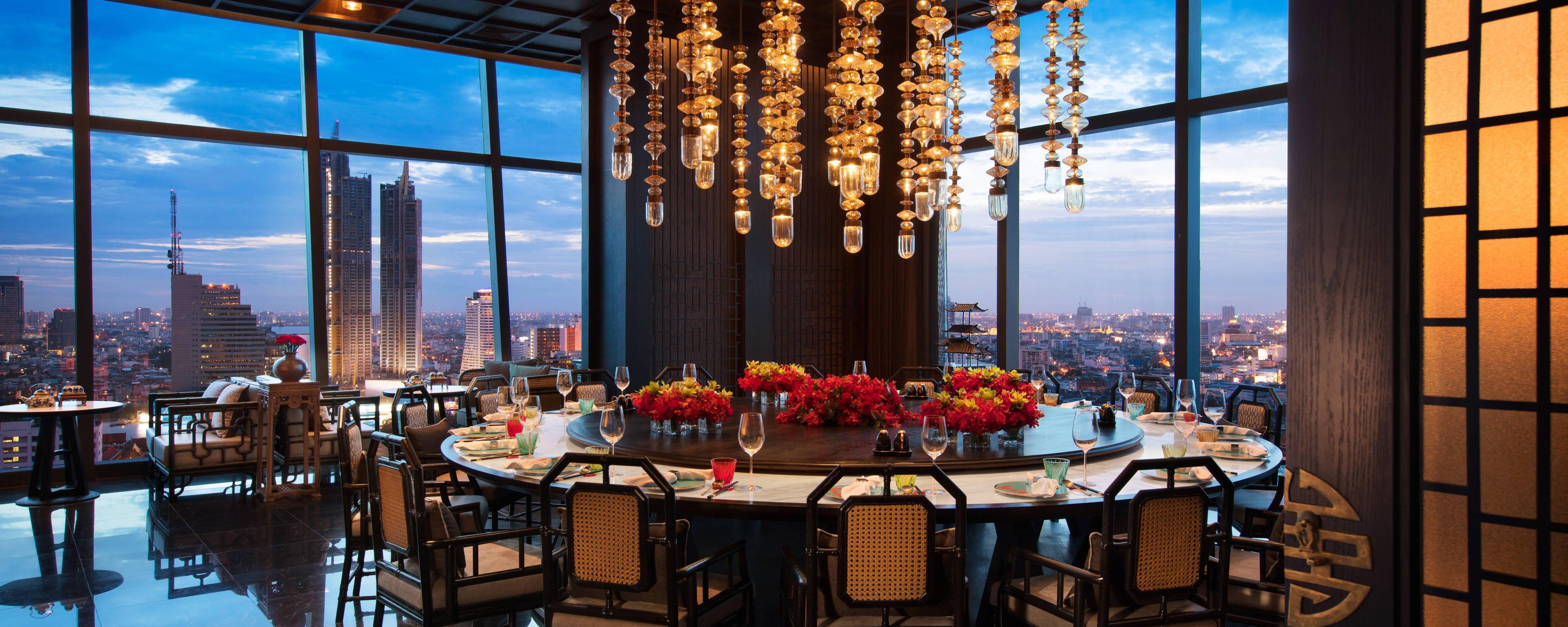 Rooftop Bar Bangkok Bangkok Marriott Hotel The Surawongse