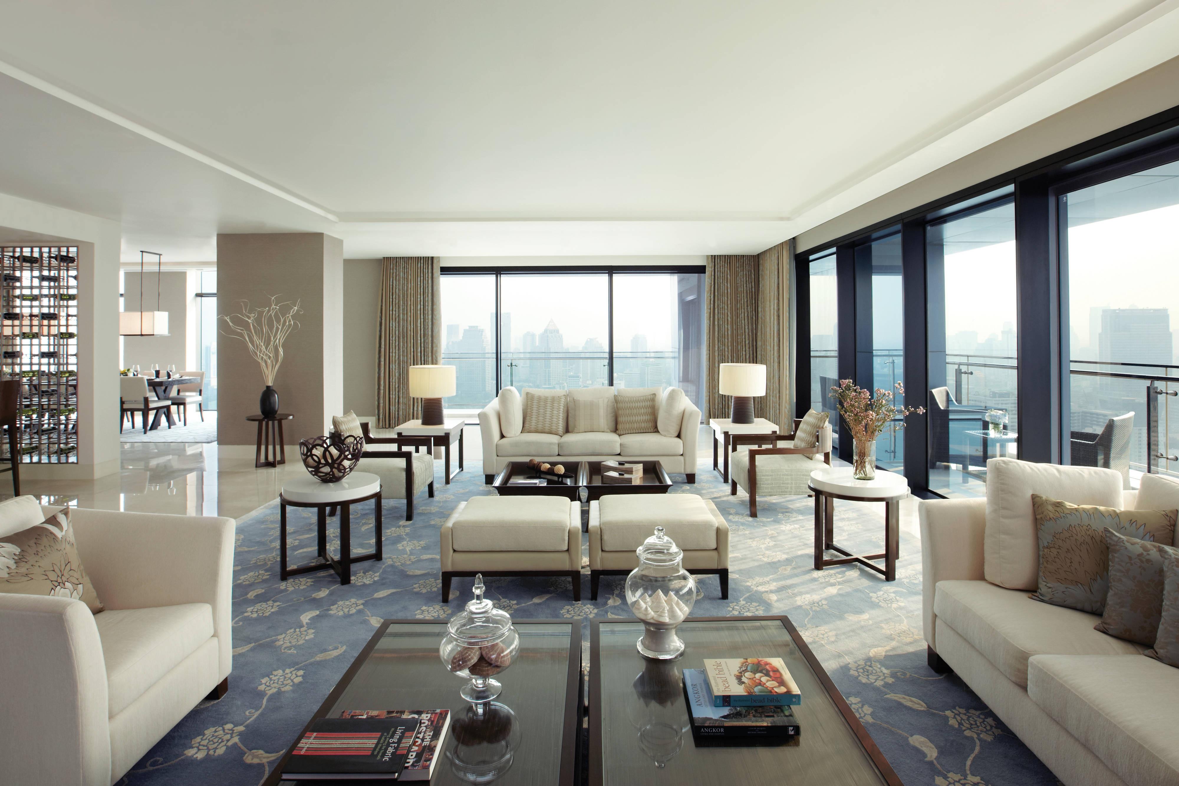 St. Regis Residence - Living Room