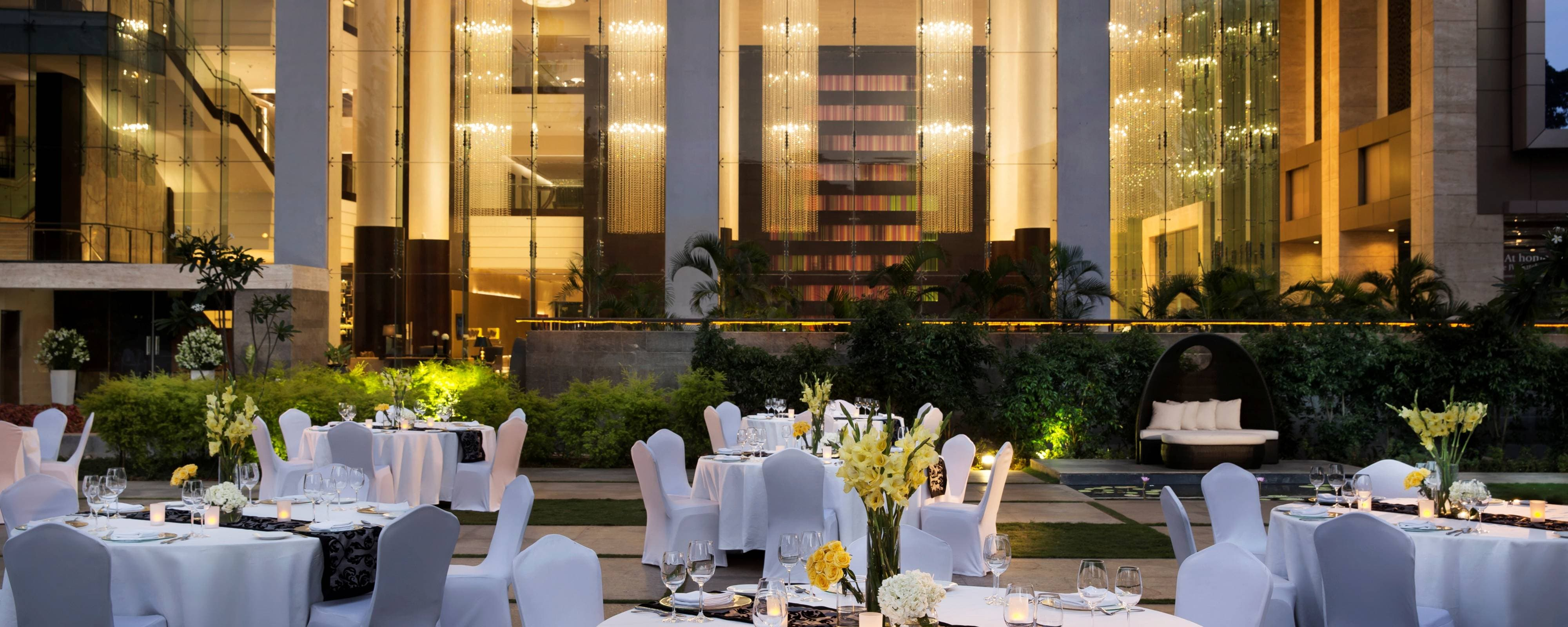 Wedding Venues In Bangalore India Jw Marriott Hotel Bengaluru