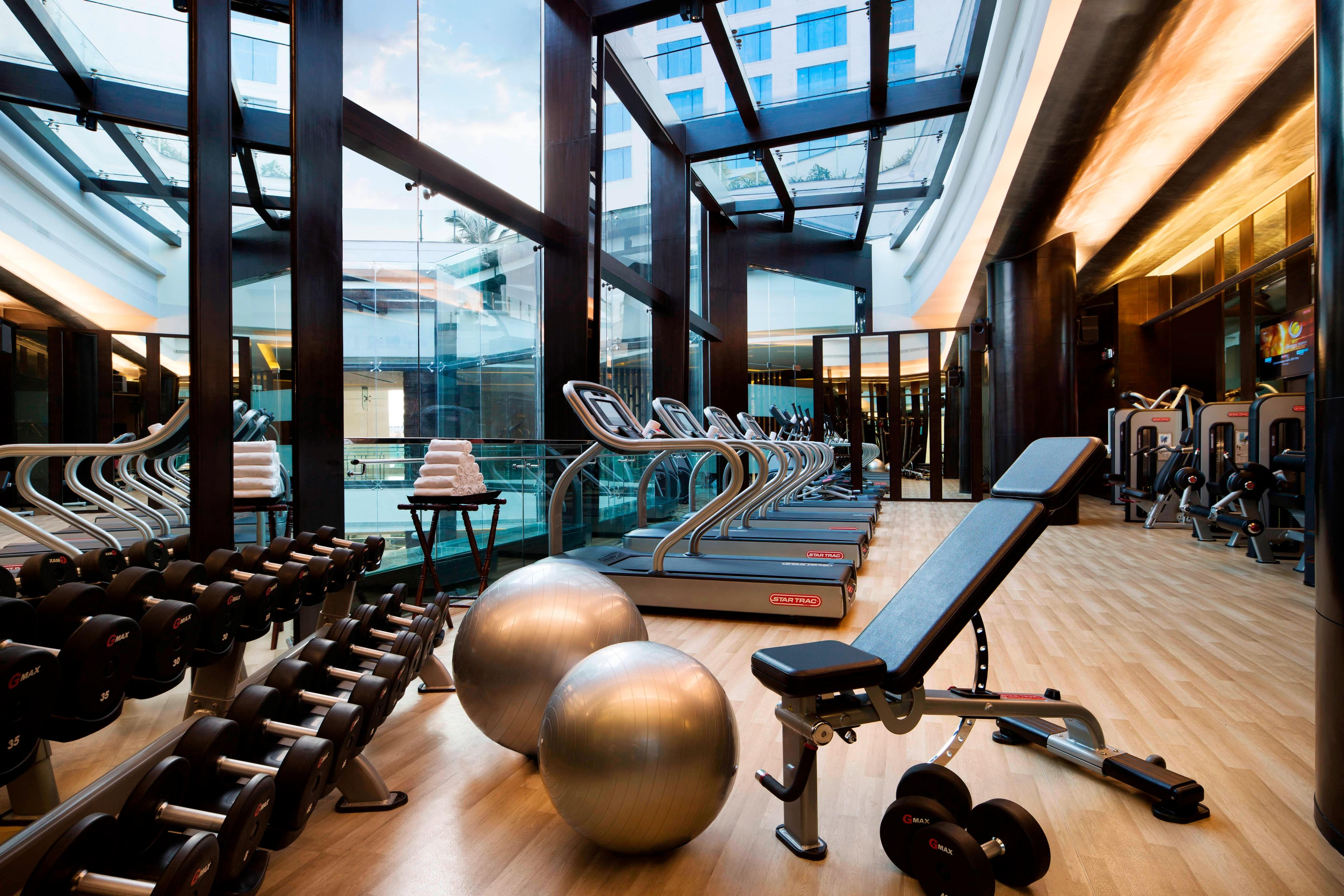 Whitefield Bangalore hotel fitness center