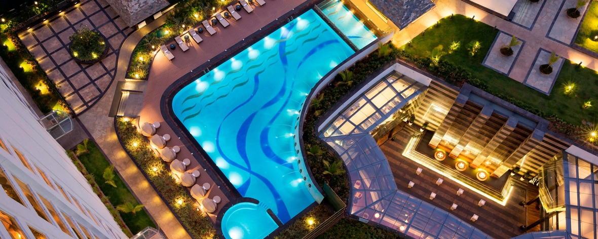 5 star hotel pool Bengaluru