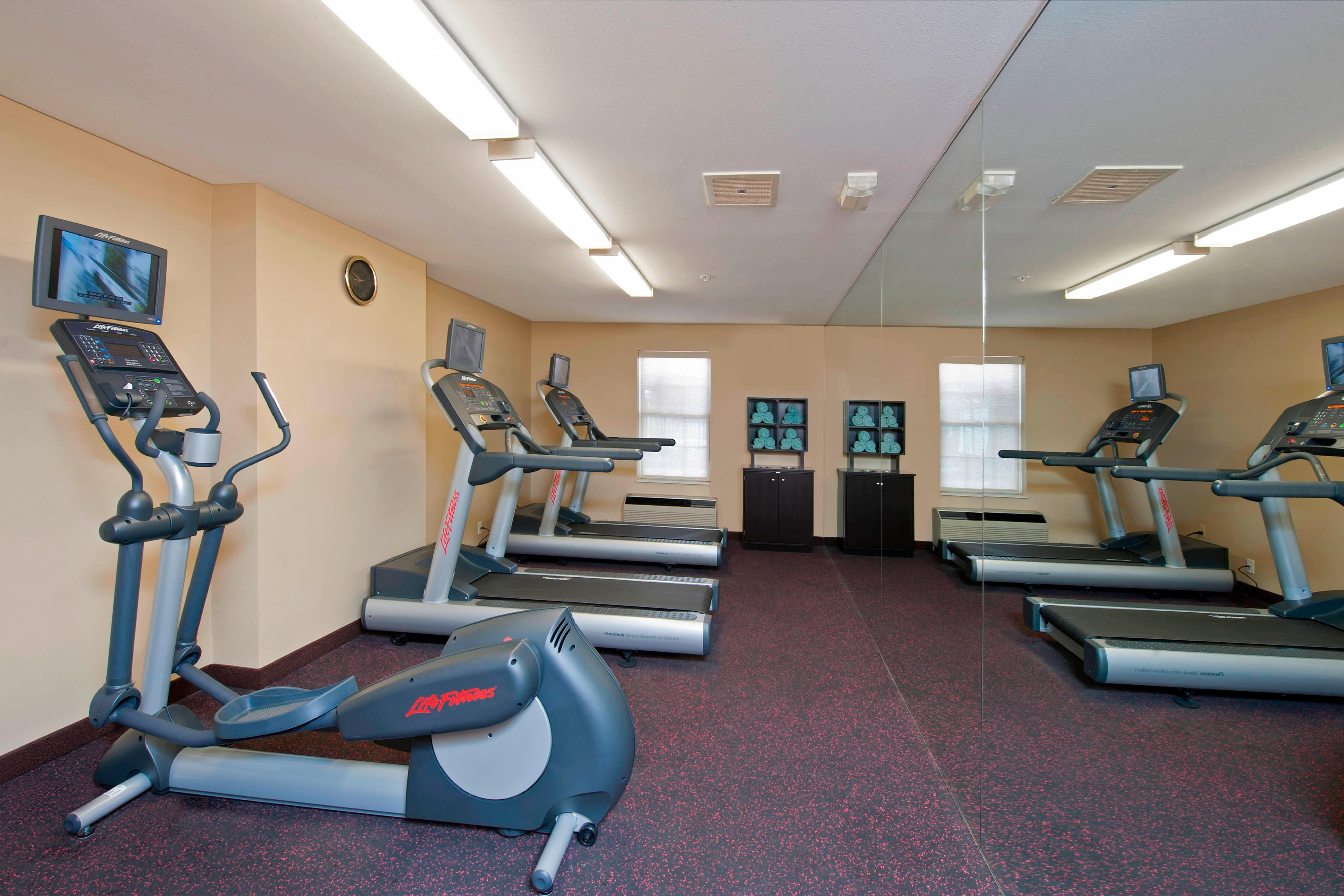 Fitness center TownePlace Suites Bloomington IN
