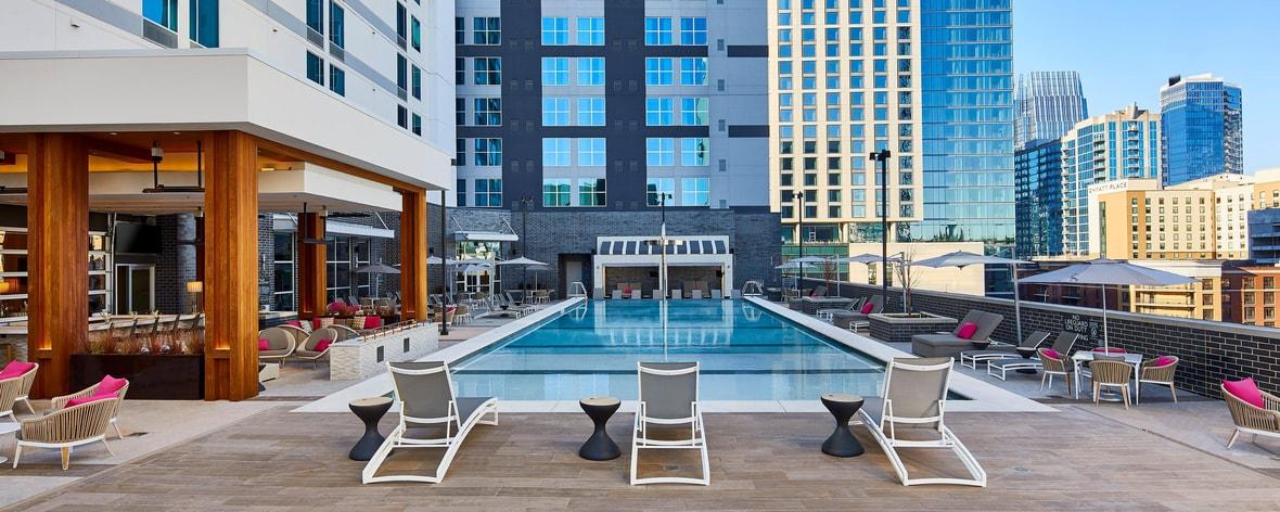 Modern Hotel In Nashville Ac Hotel Nashville Downtown