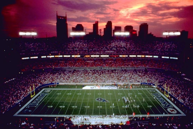 Home of the Tennessee Titans