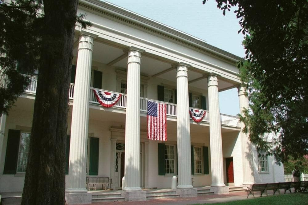 Home of President Andrew Jackson