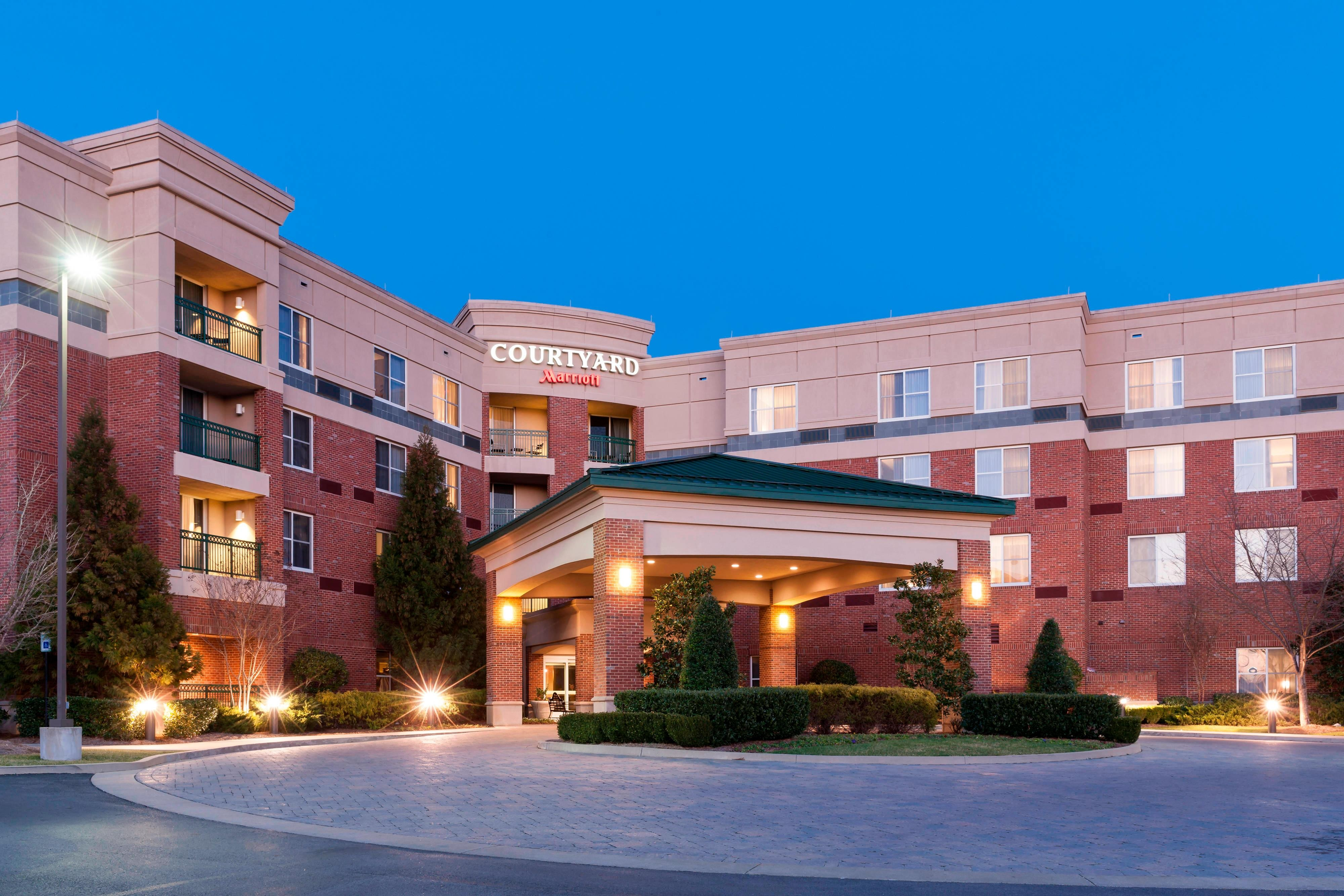 A Hotel Exterior View of Entrance