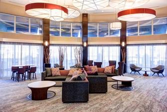 Large Atrium Style Lobby Seating Area